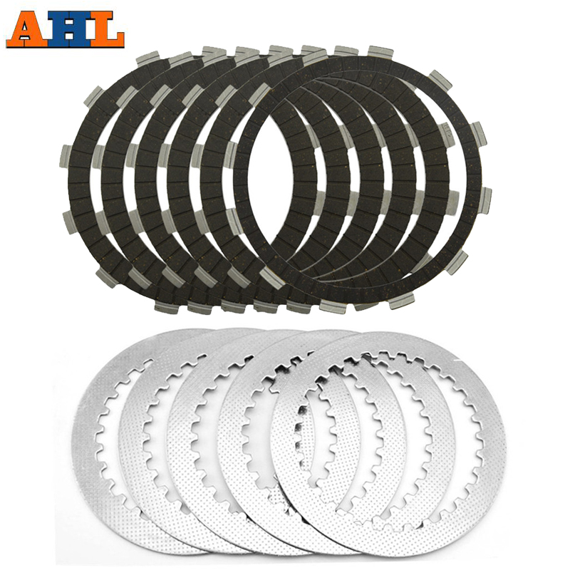 A set friction plates& steel plate Motorcycle parts clutch plates friction discs FOR HONDA CB400 VTEC400 CB-1 CBR23 NC23 CB750