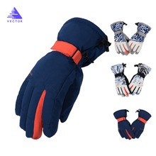 Christmas Gift HOT Ski Gloves Extra Thick Snow Winter Sport Snowboard Warm Waterproof Windproof Antiskid Skiing Men Outdoor Wear
