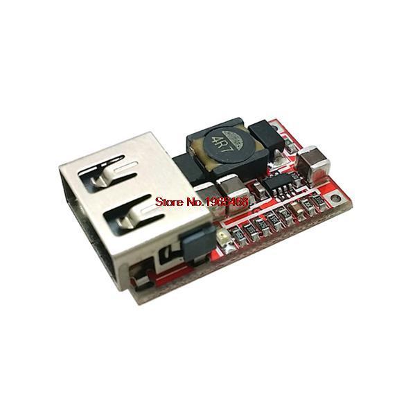 DC 6-В 24 В 12 В в/24 В до 5 В USB выход зарядное устройство понижающий силовой модуль мини-DC-DC Повышающий Модуль питания Регулируемый понижающий преобразователь