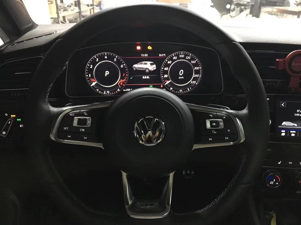 US $1000 0  5G1 920 791A For VW Golf Mk7/7 5 GTDGTI R R Line Virtual  Cockpit Combination Tool LCD Speedometer Odometer Element Cluster-in Gauge  Sets &