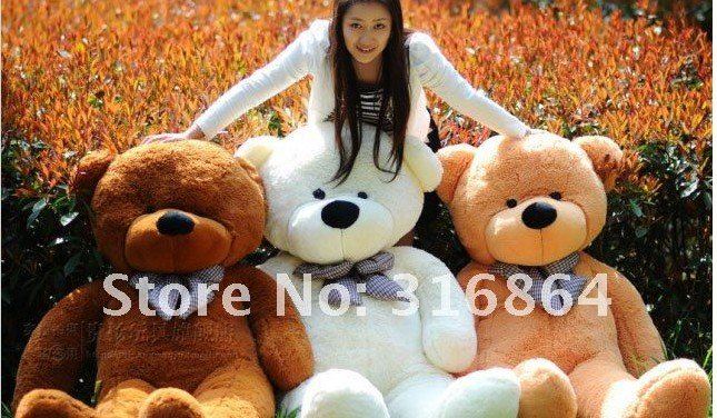 Christmas gift hot sale plush toy big size teddy bear plush toy birthday gift plush toy stuffed bear finished products fancytrader new style teddt bear toy 51 130cm big giant stuffed plush cute teddy bear valentine s day gift 4 colors ft90548