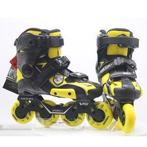Image 2 - 100% Original 2019 SEBA IGOR2 MST JUNGES Rutsche Erwachsene Inline Skates Roller Skating Schuhe Flache Rahmen Slalom Schiebe FSK Patines