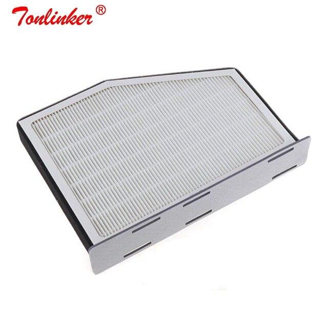 Cabin Filter For Seat  Leon/ Toledo 3/Altea/Altea XL/Alhambra 2004 2005 2015 2016 2019 HEPA Filter Grid PM2.5 Car Cabin Filter