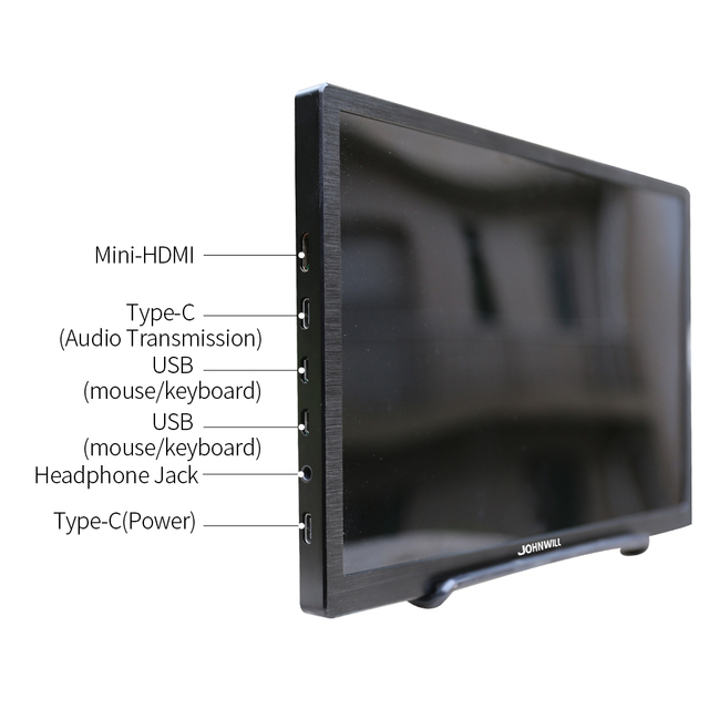 10.1 inch HD 2K touch screen Gaming monitor pc small portable LCD Display IPS 2560*1600 Type C 5