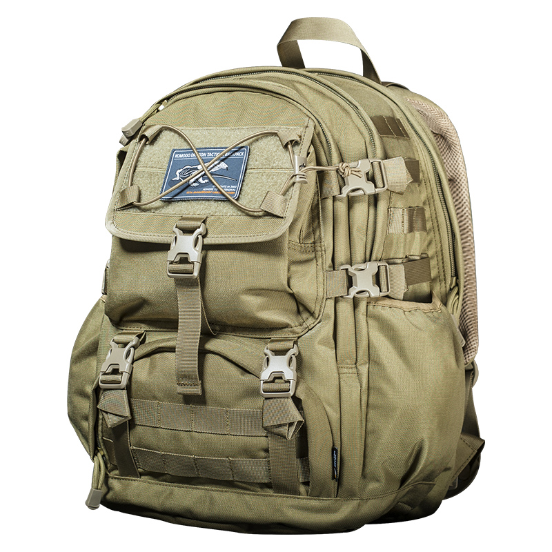 Sector Seven Outdoor Travel Large Capacity Backpack 1000D Nylon Military Tactical Backpack