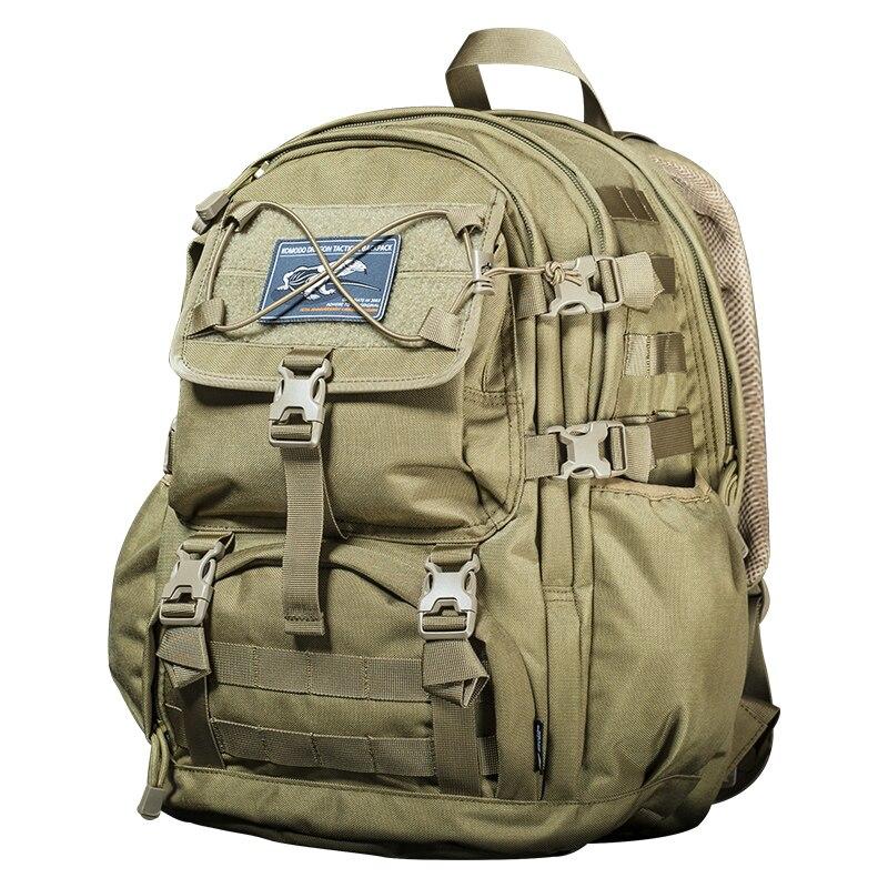 купить Sector Seven Outdoor Travel Large Capacity Backpack 1000D Nylon Military Tactical Backpack онлайн