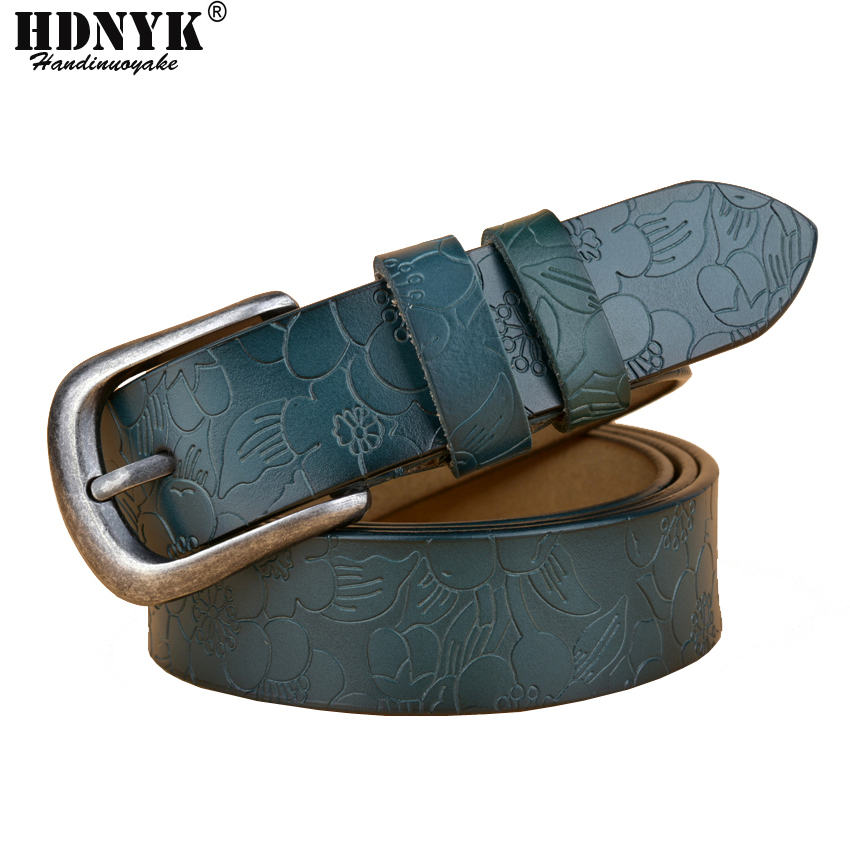Free Shipping Hot Brand Designer Women Belts Genuine Leather Vintga Belt Cowskin Pin Buckle Trouser Strap Pants Band Ceinture