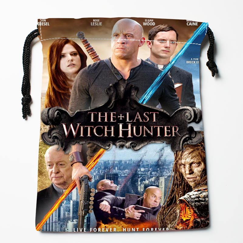 New Custom The Last Witch Hunter Drawstring Bags Custom Storage Bags Storage Printed Compression Type Bags 27x35cm