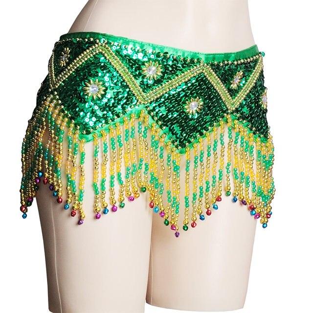 Tienda Online Nueva danza del vientre cinturón lentejuelas cintura ...