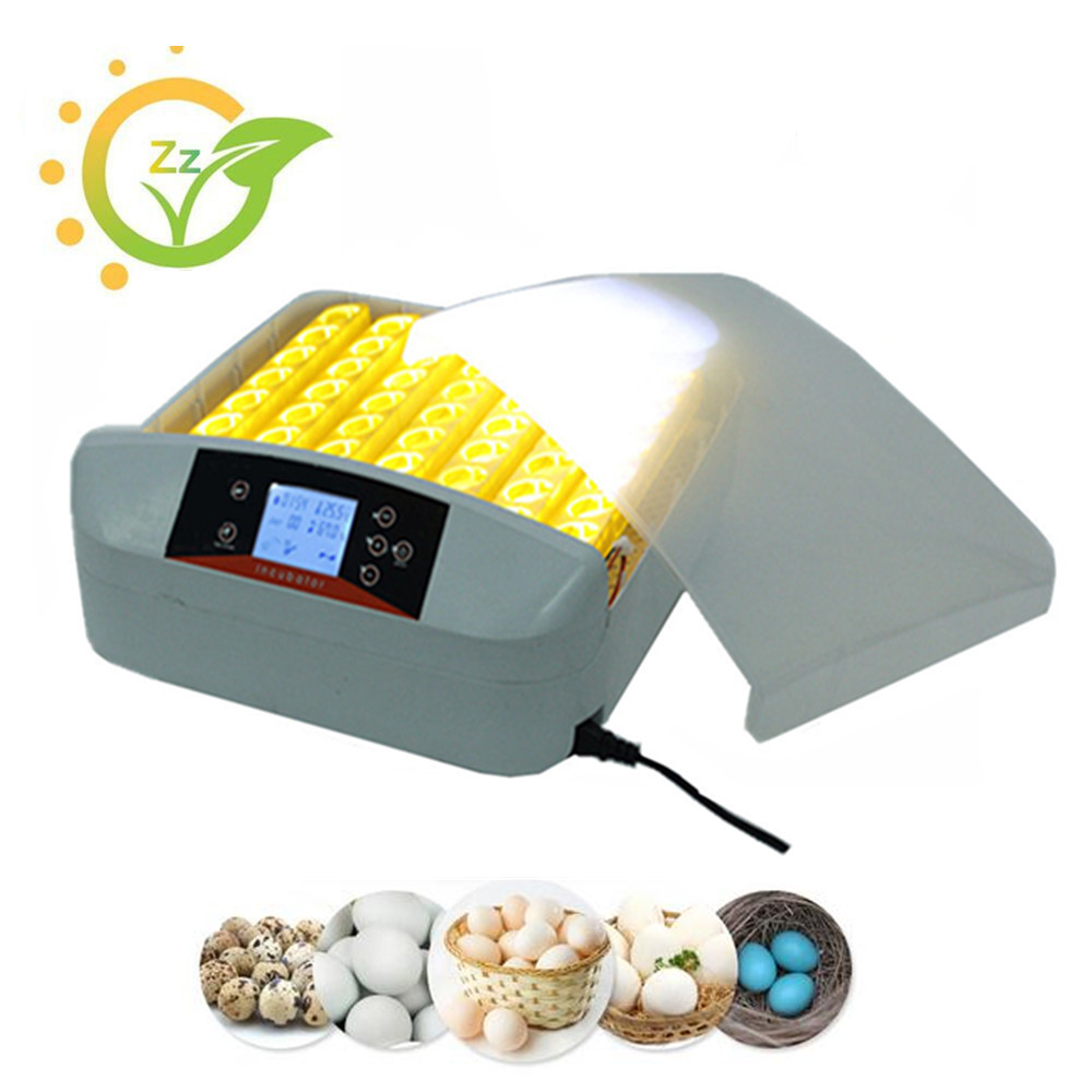56 oeufs automatique incubateur numérique clair oeuf turner mini industrielle oeuf setter incubateur éclosoir