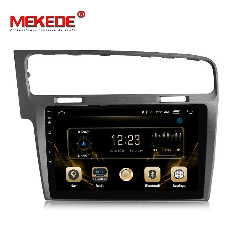 4G lte TDA7851 Android 7.1 lecteur radio multimédia de voiture pour VW golf 7 MK7 2013-2017 avec radio WIFI stéréo GPS livraison gratuite
