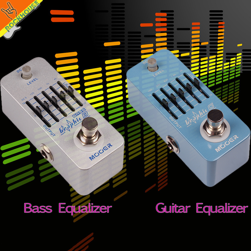 MOOER 5 Bands Guitar Equalizer Guitarra EQ Effects Pedal Bass EQ Equalizer Mini Pedal 36dB big Adjustability Free Shipping aeb 3 bass eq analog 5 band equalizer guitar effect pedal aroma mini single pedal effects with true bypass guitar accessories