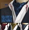 19 Estilos de Moda de Luxo Duplex Impressão De Seda Homens Lenço Amarrar Lenços de Bolinhas Terno Inglaterra Jacquard tecer Laços