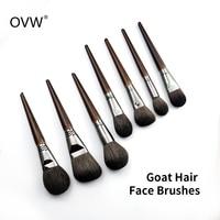 OVW 7 шт. кисточка для пудры для лица Кист для пудры пудра для пудры прессованная пудра для пудры кисти для макияжа kisti makiyazh Professional