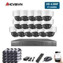 4 K POE NVR 5MP 4MP 3MP 2MP комплект PoE IP Камера P2P Облако IP камера Onvif FTP CCTV Системы ИК Открытый Ночное видение комплект видеонаблюдения