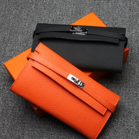 Luxury Women Wallets Cow Leather High Quality Designer Brand Wallet Lady Fashion Clutch Casual Women Purses