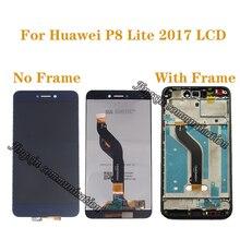 Original display for Huawei P8 Lite 2017 LCD + touch screen replacement For P8 LITE 2017  PRA-LA1 PRA-LX1 PRA-LX3 LCD with frame antonio gramsci el moderno pra ncipe