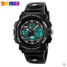 SKMEI kids male woman college students watch alarm clock motion multi-function timing calendar luminous kids digital watch
