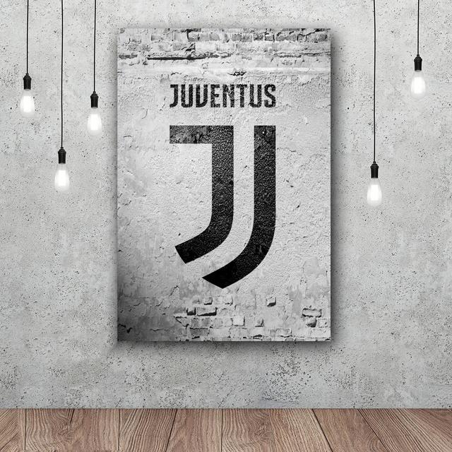 Juventus Art Silk Poster Home 12×18 24x36inch