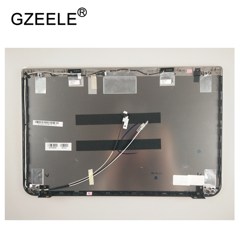 GZEELE New LCD top case Rear Display cover Assembly For Toshiba Satellite P50-A P55-A P50-A144 back cover back shell SILVER new for asus gl502 gl502vm gl502vs gl502vy gl502vt gl502vs ds71 gl502vm ds74 lcd back cover top case a shell black silver