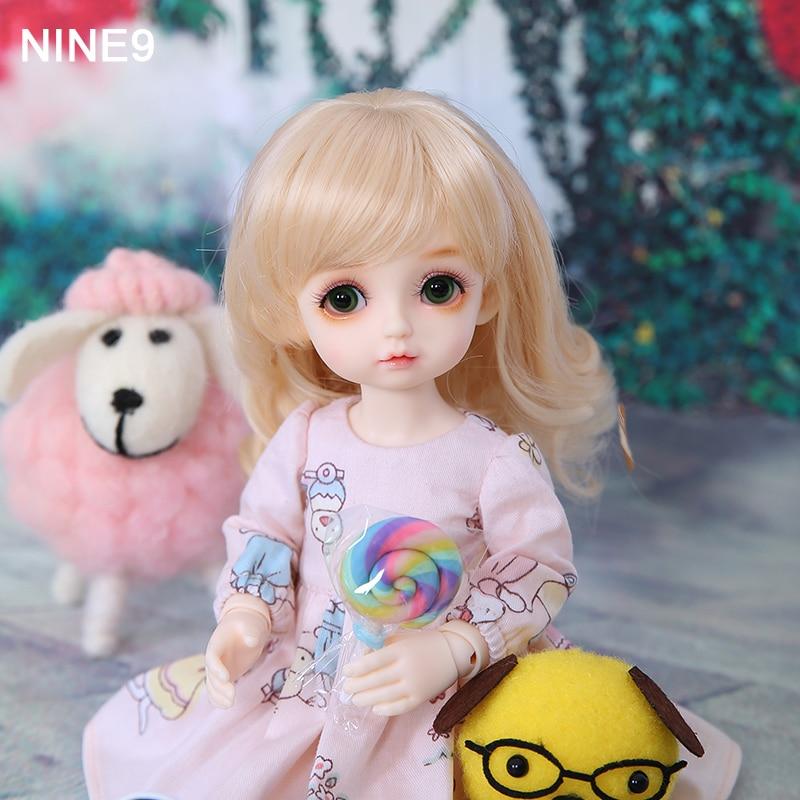 Nouveauté Nine9 Pio BJD poupées 1/6 Fullset Option bébé filles haute qualité résine jouets boutique de mode Mini figurines