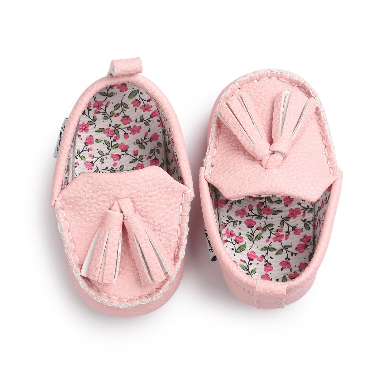 2017 ROMIRUS Tassel Moccasin Slippers Pu Leather Prewalkers Boots Tassels Baby Moccasin Newborn Babies Shoes Drop shipping