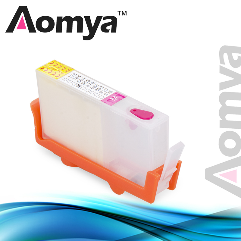 5Pcs Aomya 178 Ink Cartridge Compatible For HP 178 178XL Photosmart 5510 5515 6510 7510 B109a B109n B110a B209a B210a 3070A