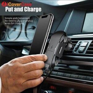 Image 5 - Veloce Caricatore Senza Fili Per Ulefone potenza 5 5 s Armatura X 6 Qi Pad di Ricarica per Doogee S70 Lite BL9000 supporto Del Telefono per auto Accessorio