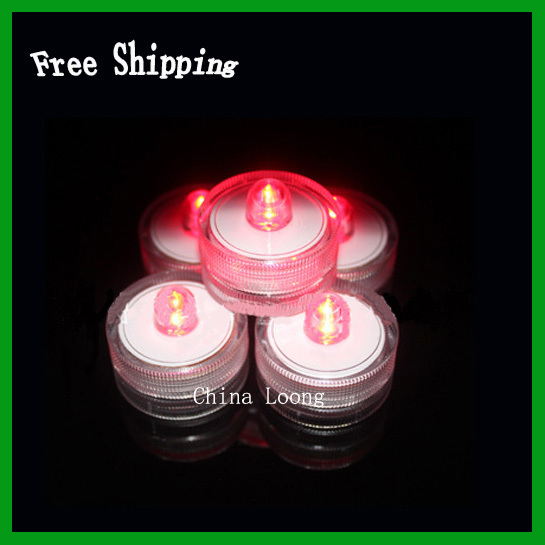Free Shipping!Wholesale Led Candle Lights 36pc/lot,Led Waterproof Candle For Wedding Party And Concert