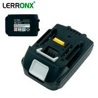 LERRONX BL1815 18V 2.0Ah Lithium Power Tools Rechargeable battery for Makita Drills BL1830 LXT400 BL1840 194204 5 Li ion battery