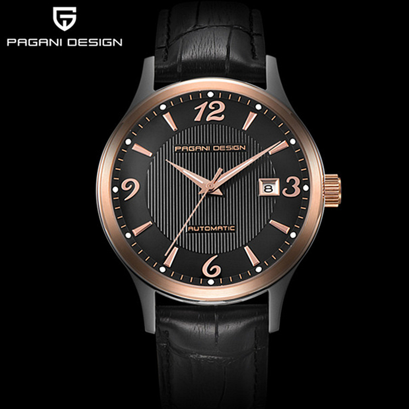 Reloj Hombre Top Luxury Brand font b Men b font Automatic font b mechanical b font