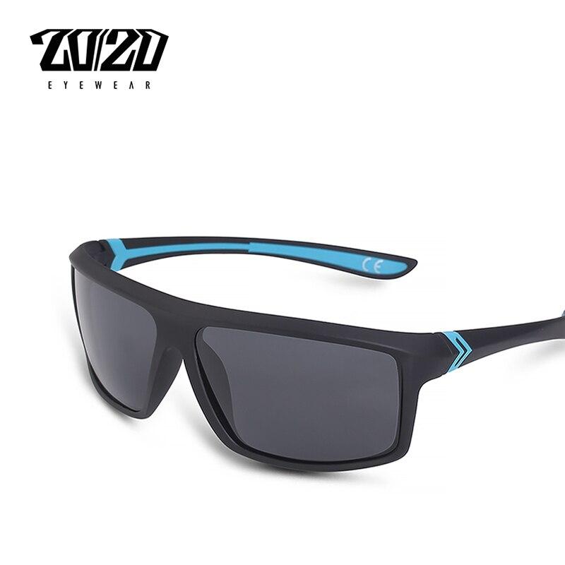 20/20 Marke Neue Polarisierte Sonnenbrille Männer Platz Designer Fahren Männlich Männlich Sonnenbrille Gafas Oculos Pte2105 Knitterfestigkeit