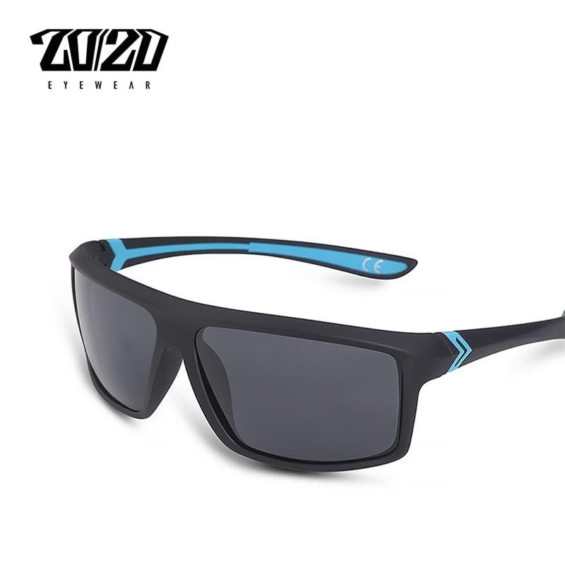 Gafas de sol polarizadas de marca 20/20 para hombre, gafas de sol cuadradas para conducir, gafas de sol masculinas, gafas de sol para hombre, PTE2105