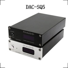 FX-Audio DAC-SQ5 HiFi 2.0 Digitaler Audio Decoder Eingang USB / Koaxial / Optisch PCM1794A + AK4113 + VT1729USB DC12V / 1A Fernbedienung