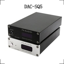FX-Audio DAC-SQ5 HiFi 2.0 Digital Audio Decoder Input USB/Coaxial/Optical PCM1794A+AK4113+VT1729USB DC12V/1A Remote Controller fx audio dac x6 mini hifi 2 0 digital audio amplifier decoder dac input usb coaxial optical output rca amplificador audio