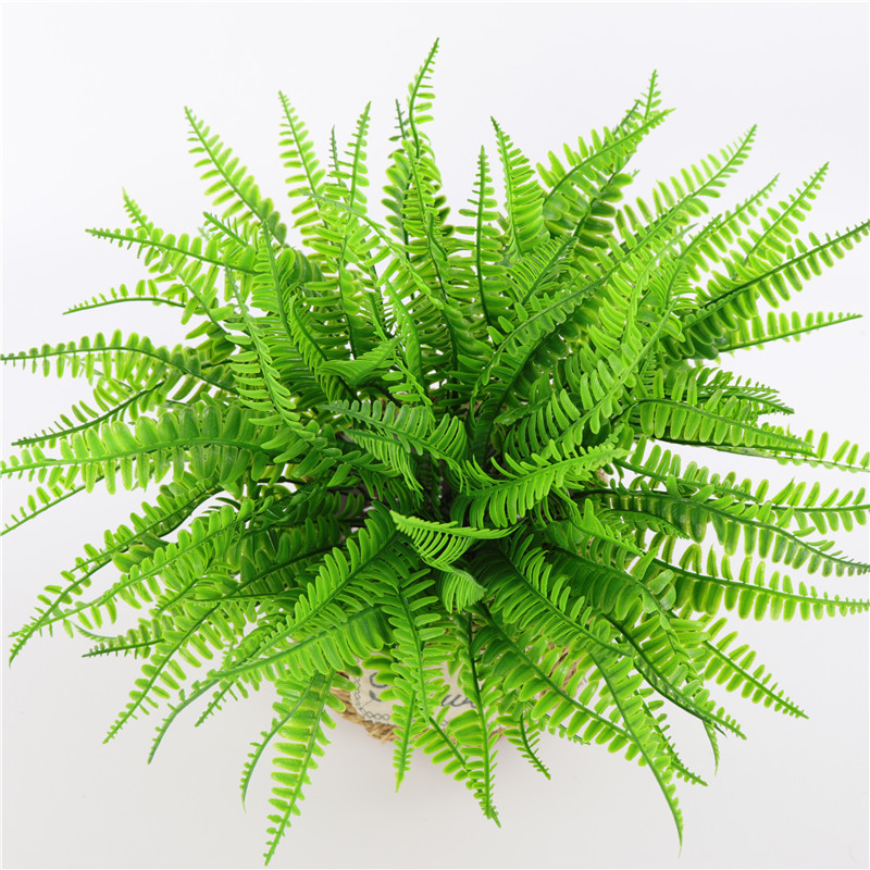 1 Branch Artificial Green Plant Fake Fern Persian Grass Leaves Flower for Home Office Table Wall Outdoor Wedding Party Decor1 Branch Artificial Green Plant Fake Fern Persian Grass Leaves Flower for Home Office Table Wall Outdoor Wedding Party Decor