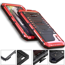 Premium Shockproof IP68 Waterproof Full Protection Aluminum Metal Doom Cover Case For Apple iPhone XR X XS Max 8 7 6 6s Plus