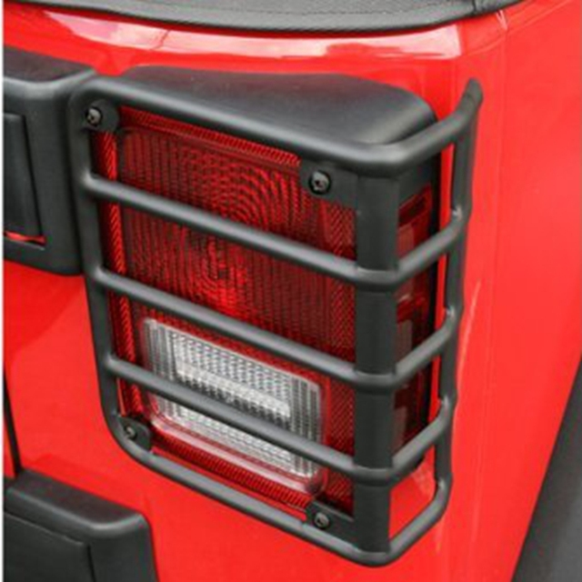 Tail Light Cover Trim Guards Protector Fit 2007   2017 Jeep Wrangler JK U0026  Unlimited 2 Photo Gallery