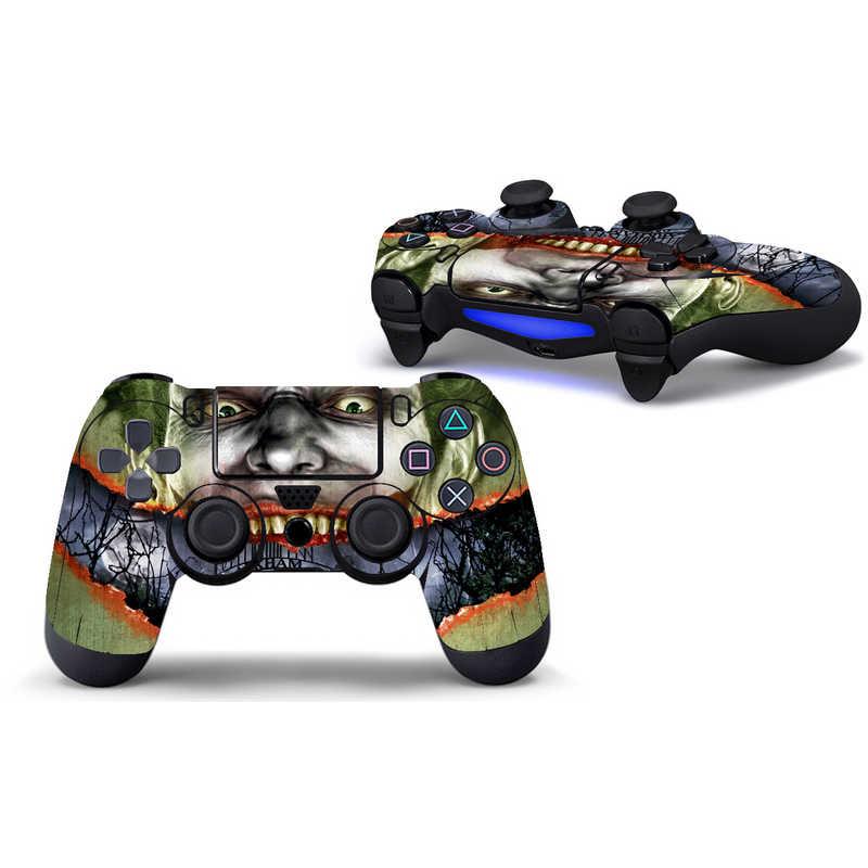 Joker Batman winylowa tablica naścienna skórka naklejka dla Sony Playstation 4 kontroler Star Protector nakładki na PS4 Controle
