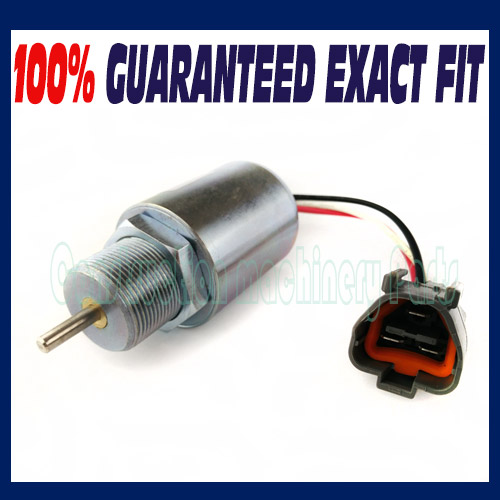 SA-3725-12 New 12V Shut Down Solenoid for Mitsubishi S3L 30A87-00040