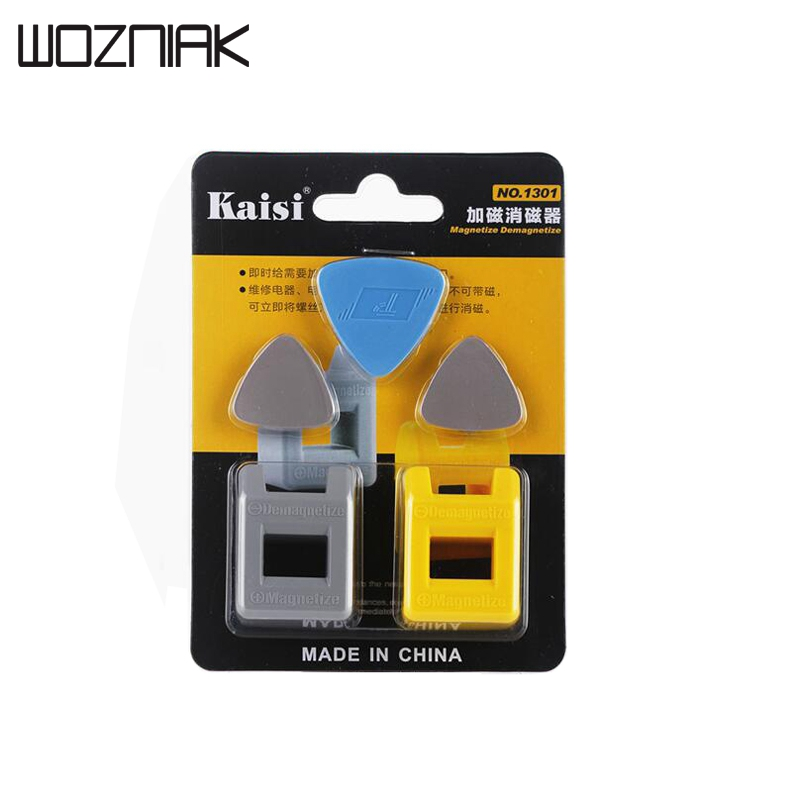 Wozniak Magnetizer Demagnetizer for Screwdriver Tips 2 Pack,Drill Bits,Nuts,Bolts,Nails,Construction and Small Tools