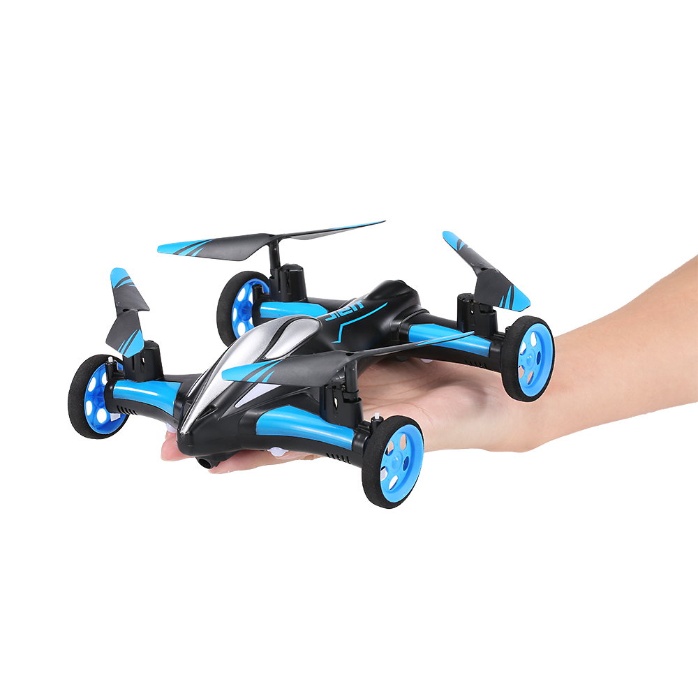 H23 2.4G 4CH 6-Axis Gyro Air-Ground Flying Car RC Drone RTF Quadcopter with 3D Flip One-key Return Headless Mode RC Quad Dron drone with camera h5c 2 4ghz 6 axis wth gyro rc quadcopter one key return headless mode rc aircraft rtf helicopter toy kid gifts