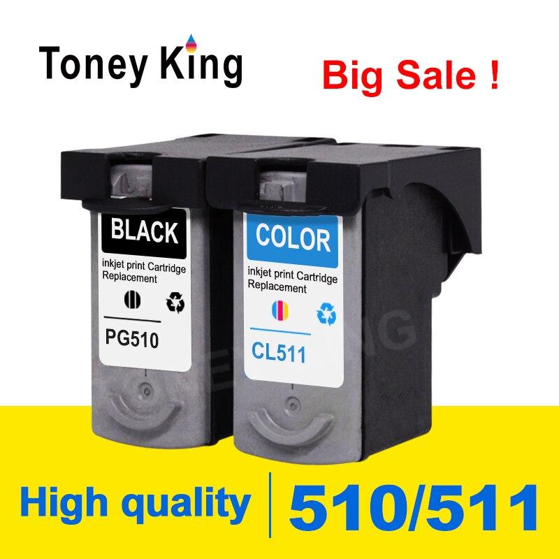 Toney King PG510 Ink Cartridge PG 510 CL511 CL 511 for Canon Pixma MX320 MX330 MX340