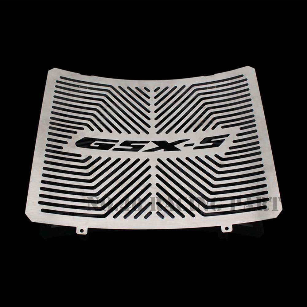 Серебряные Аксессуары для мотоциклов радиатора охранник протектор решетка Гриль Крышка для Suzuki системы GSX-С1000 /Ф GSX в С1000 системы GSX-S1000F