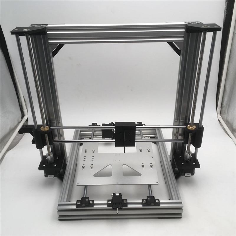 Бесплатная доставка! Funssor AM8 3D принтер полностью металлический каркас механический полный комплект для обновления Anet A8 (натуральный)