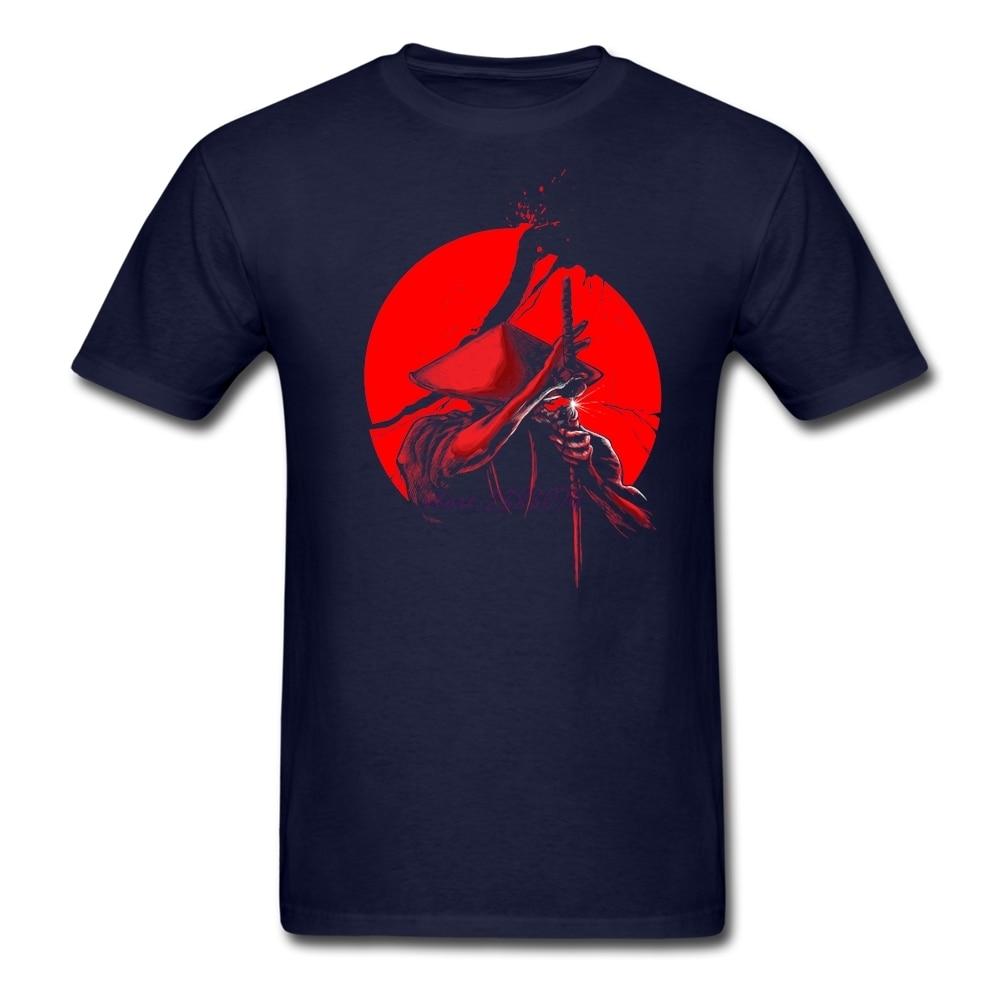 Shirt design ink - Sexual Bright Design T Shirt Shop Mens Samurai Slice Natural Cotton Round Collar Printed With Healthy