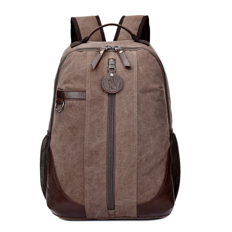 New Vintage Backpack Fashion Canvas Backpack Leisure Travel School Bags Laptop Computers Unisex Backpacks Men Backpack