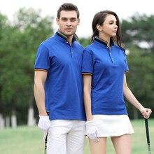 ZYFPGS 2019 polo shirt women Cotton Short Sleeve lapel Casual lovers Polo Shirts Custom summer business work New fashion