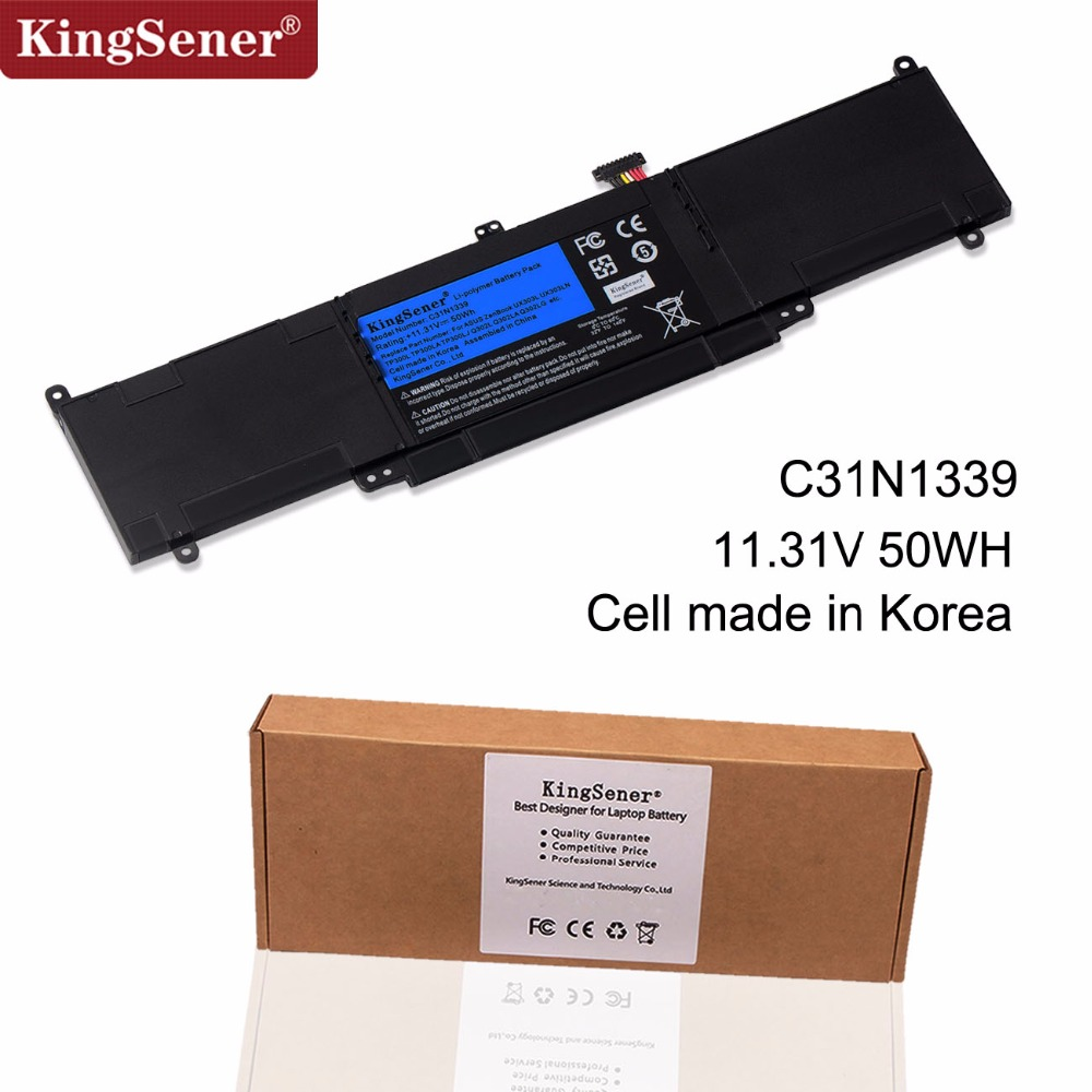KingSener C31N1339 Laptop Battery For ASUS Zenbook UX303L UX303LN TP300L TP300LA TP300LJ Q302L Q302LA Q302LG C31N1339 50WH in Laptop Batteries from Computer Office