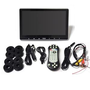 Image 5 - XST 11.6 インチ車ヘッドレスト Dvd プレーヤーモニタータッチボタンサポートビデオ HD 1080 p/USB/SD/ IR/Fm トランスミッター/HDMI/スピーカー/ゲーム